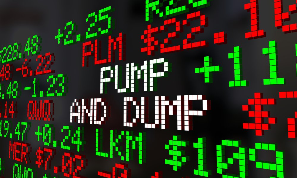 Crypto-pump-and-dump